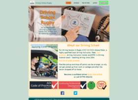 drivingschoolrugby.com