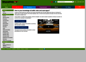 Drivingtest.ghanaweb.com