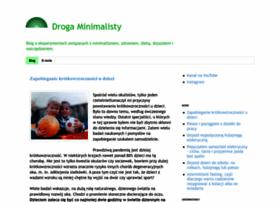 drogaminimalisty.blogspot.com