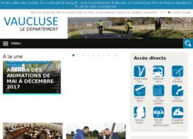 droits-et-demarches.vaucluse.fr