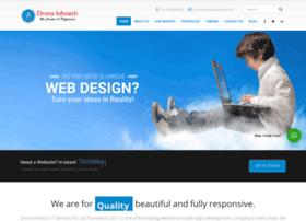 dronainfotech.com