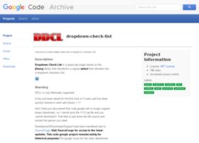 dropdown-check-list.googlecode.com