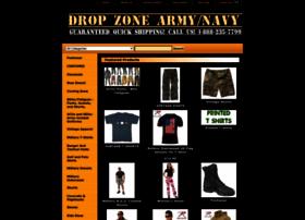 dropzonearmynavy.com