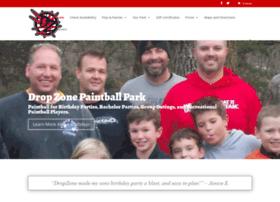 dropzonepaintballpark.com