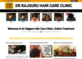 drrajguruhaircareclinic.com