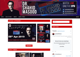 drshahidmasood.com