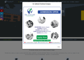 drsubhashtech.edu.in