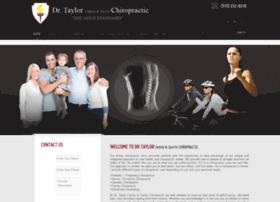 drtaylorchiropractic.com