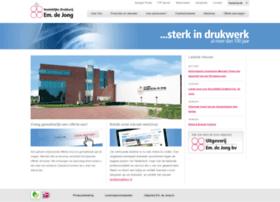 drukkerijemdejong.nl