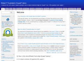 drupal7demo.webel.com.au