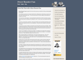 dryerboosterfan.com