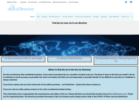 dryicedirectory.com