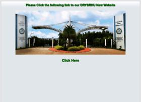 drysrhu.edu.in