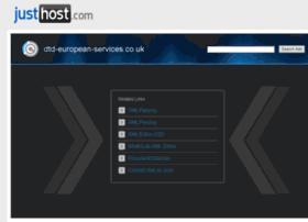 dtd-european-services.co.uk