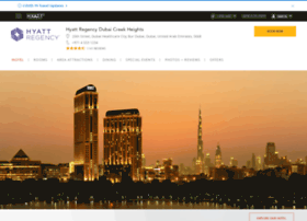 dubaicreek.regency.hyatt.com
