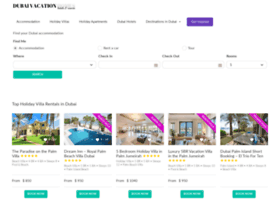 dubaivacationhomes.com