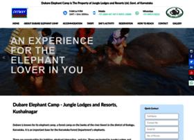 Dubareelephantcamp.com