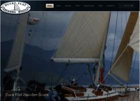 duckflatwoodenboats.com