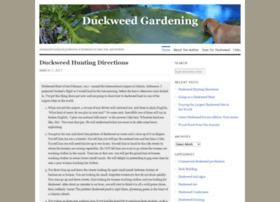 duckweedgardening.com