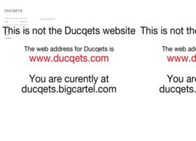 ducqets.bigcartel.com