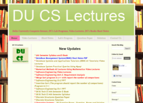 ducslectures.blogspot.in