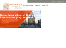duisenbergschooloffinance.com