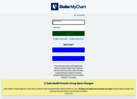 dukemychart.org