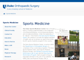 dukesportsmedicine.com