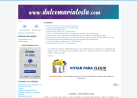 dulcemariatosta.com
