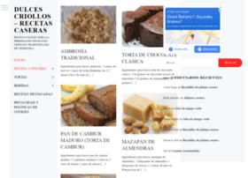 dulcescriollos.com