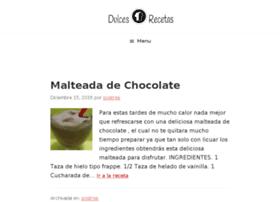 dulcesrecetas.com