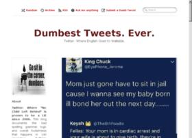 dumbesttweets.com