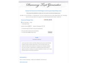 dummytextgenerator.com