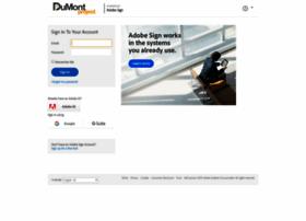 dumontproject.echosign.com