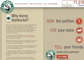 dumpstarbucks.com