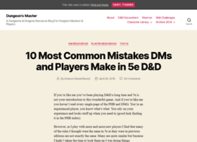 dungeonsmaster.com