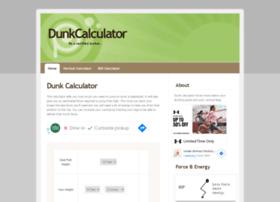 dunkcalculator.com