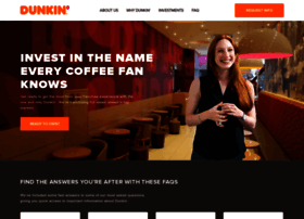 dunkinfranchising.com