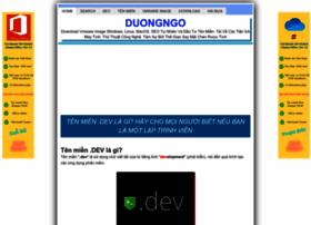 duongngo.com