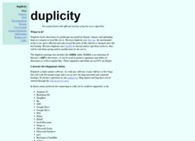 duplicity.nongnu.org