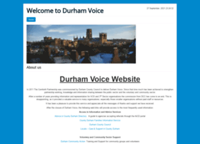 durhamvoice.org.uk
