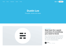 dustinlee.co