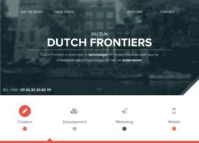 dutchfrontiers.com