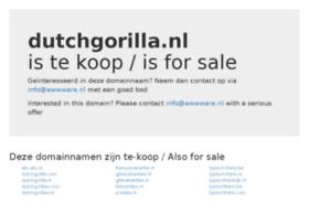 dutchgorilla.nl