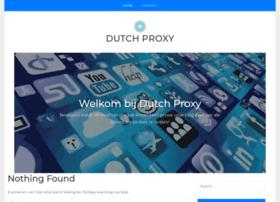 dutchproxy.nl