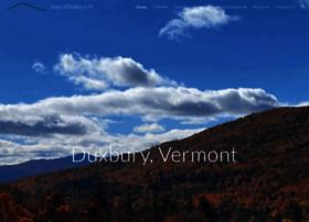 duxburyvermont.org