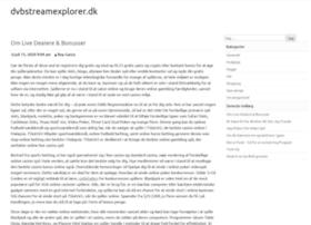 dvbstreamexplorer.dk