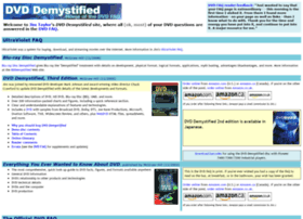 dvddemystified.com