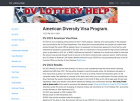 www.dvlotteryhelp.com Visit site