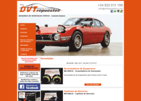 dvtrepuestos.com